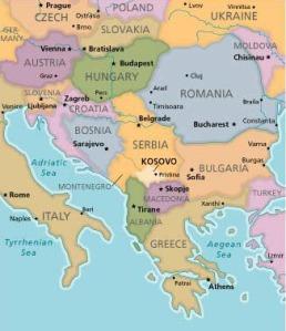 kosovo_kaart